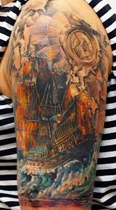 12 best 30 ship tattoos images on pinterest ship tattoos