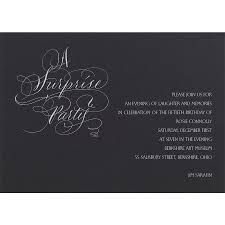 classic birthday cocktail party invitation card with beige