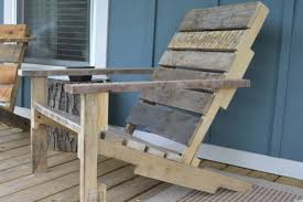 Plans For Wooden Porch Furniture by Build Your Own Wooden Deck Chair From A Pallet For 10 Huffpost