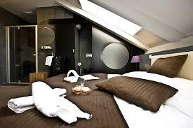 attic designs bedroom decor headboard pillow mattress blanket table lamp shade