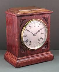 Chiming Mantel Clock Oak Winterhalder And Hofmeier Quarter Chiming Mantel Clock