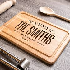 custom cutting board personalised chopping board