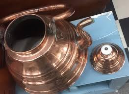 Copper Kitchen Decor by Antique Large Copper Coffee Pot Country Decor Kitchen Decor