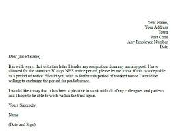 the best resignation letter sample samplebusinessresume
