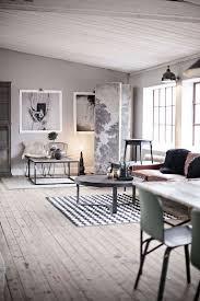 Living Room Design Brick Wall Amazing Industrial Living Room Design Brick Wall Wooden Beam