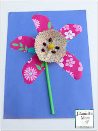 of a flower craft for kids