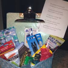 grad gift this basket contains gifts to help you on