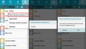 how to backup contacts on android how to back up contacts on android