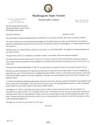Examples Of Letters Of Recommendation For Teachers Washington State Senate Democrats U2013 Democrats Urge Senate