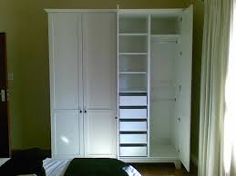 Free Standing Closet With Doors Free Standing Closet Wardrobe Steveb Interior Free Standing