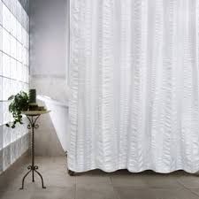 White Cotton Curtains 100 Cotton Shower Curtains You U0027ll Love Wayfair