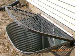 egress window well grate covers