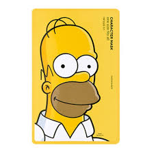 homer the face shop x the simpsons character mask homer the face shop
