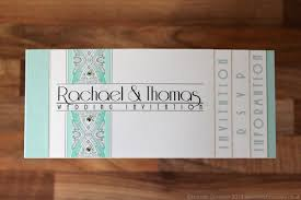 Wedding Booklet Templates Art Deco Booklet Invitation Jpg