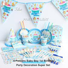 Little Man 1st Birthday Decorations Baby 1st Birthday Decorations For Boy Home Decor 2017