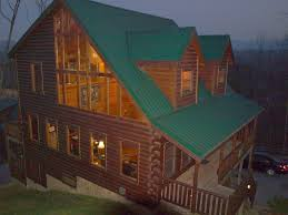 Near Dollywood 5 3 Log Cabin W Mtn HomeAway Sevierville