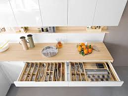 Kitchen Storage Solutions For Small Spaces - contemporary italian kitchen offers functional storage solutions