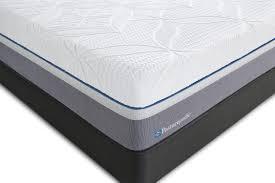 sealy posturepedic hybrid cobalt firm queen mattress