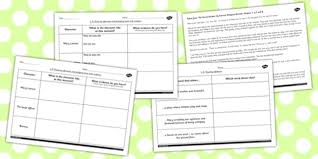 secret garden inferences activity sheets secret worksheet