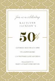 50th wedding invitations free printable 50th birthday invitation templates greetings island