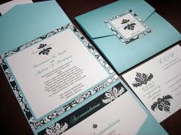 Make Wedding Invitations Tiffany Blue Wedding Invitations Kawaiitheo Com