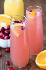 cranberry orange mimosa bellini recipe cocktail parties by