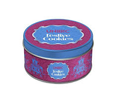 unibic festive cookies tin 150g in grocery gourmet foods