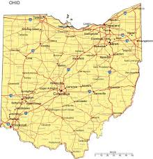 map of ohio map of ohio counties ohio counties map with 457 x 476 map of usa
