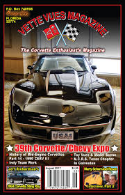 corvette magazine subscription vues magazine august 2017 issue preview featuresaugust