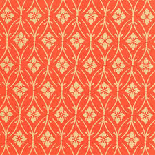 gift wrap paper silkscreen wrapping paper in orange bell invito stationers