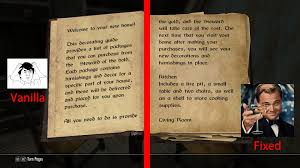 Skyrim Home Decorating Guide Skyrim Book Font Clear V1 0 At Skyrim Nexus Mods And Community
