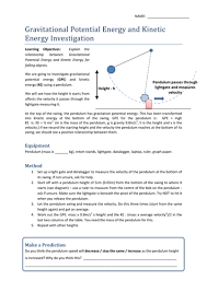gravitational potential kinetic energy ppt by beansontoast1