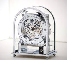 mechanical desk clock louis fontaine clock on mother of pearl base null http www
