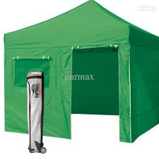 Bag Awning 2017 New Eurmax Kelly Green Canopy 10 X 10 Commercial Ez Pop Up