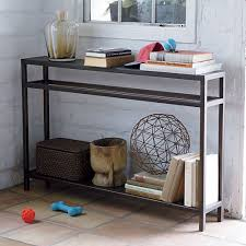 Living Room Sofa Tables by Console Tables Skinny Console Table With Storage For Living Room