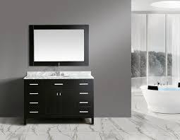 design element bathroom vanities design element 54 in w x 22 in d vanity dec076h e wt bathroom