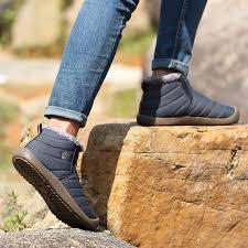 best quality women men snow boots winter hiking shoes lightweight