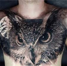 144 chest tattoos for