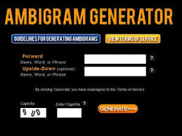 ambigram tattoos generator ambigram generators for the uber