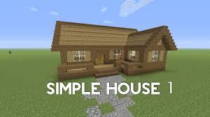 minecraft xbox simple house tutorial youtube