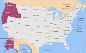 map of us states political us state alaska political map with capital juneau national borders
