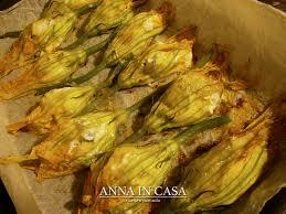 ricette con fiori di zucchina al forno in casa ricette e non fiori di zucchine ripieni al forno