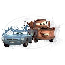 fin mcmissile disney cars 2 mater finn mcmissile self stick wall accent