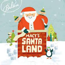 macy s santaland in minneapolis through december 24th free