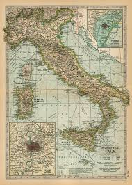 italian wrapping paper cavallini co italy map decorative decoupage poster