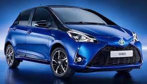 cars toyota 2017 2017 toyota yaris hybrid is unveiled push evs