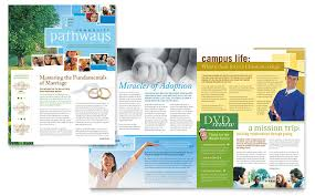 free church brochure templates for microsoft word community church newsletter template word publisher