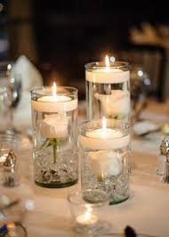 candle centerpieces wedding low centerpiece idea that allows guests to conversation