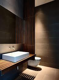 wood slat countertop interior design ideas