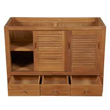 Oak Kitchen Cabinets For Sale Light Brown Wooden Cabinet With Shelves Also Three Drawers Placed